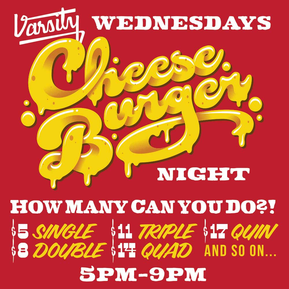 VarsityBar_NightlySpecials2020_CheeseBurger_square