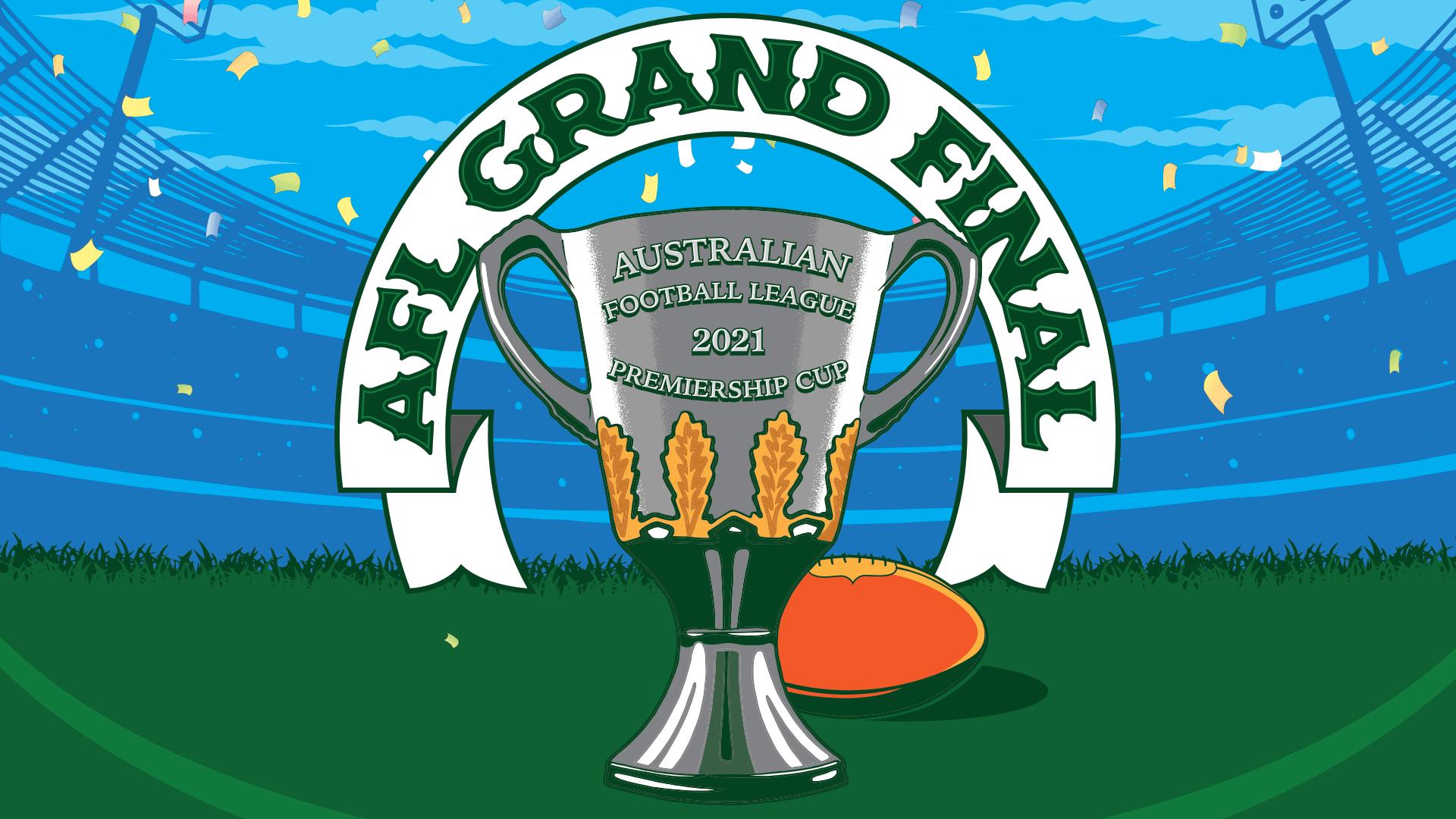 Afl grand final graphic